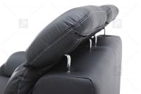 Sofa Amber - Skóra regulowane zagłowki