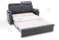 Sofa Amber - Skóra rozkładana kanapa