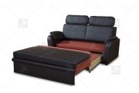 Sofa Amber - Skóra sofa rozkładana do salonu
