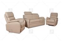 Sofa Amber - Skóra komplet skórzany