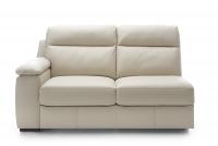 Narożnik z funkcją spania Libretto 2,5F-E-1-1HT/BK - Wyprzedaż sofa dwuosobowa