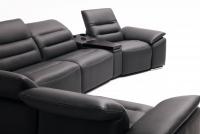 Segment prostokąt z półką i systemem audio Impressione TRSU Etap Sofa