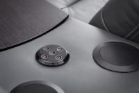 Segment prostokąt z półką i systemem audio Impressione TRSU impressione etap sofa