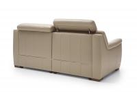 Sofa z funkcją spania Salmo 3F sofa skórzana