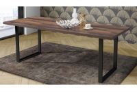 Blat stołu ABPT402-D30 Tables Dąb sonoma  stół metalowy
