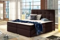 Łóżko kontynentalne Inez 160x200 łózko z wysokim wezgłowiem