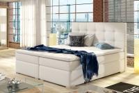 Łóżko kontynentalne Inez 160x200 jasne łóżko