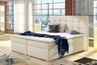 Łóżko kontynentalne Inez 160x200 łóżko z derokacyjnym wezgłowiem