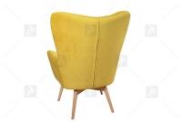 Zestaw Uszak Skandynawski Nordic III fotel tapicerowany