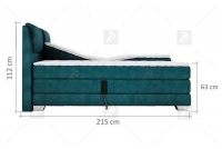 Łóżko elektrycznie sterowane Wave 160x200 - Promocja