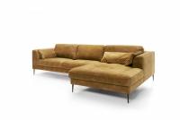 Narożnik z funkcją spania Luzi 2DL-REC/BK narożnik etap sofa