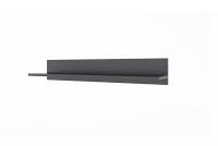 Meblościanka Combo 40 grafit/MDF czarny połysk półka wisząca combo