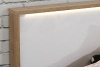 Zestaw mebli młodzieżowych Chicory I wezgłowie z led