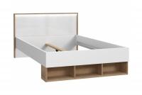 Zestaw mebli młodzieżowych Chicory I łóżko z półkami