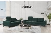 Sofa dwuosobowa z regulowanymi zagłówkami Belavio II sofy do nowoczesnego salonu