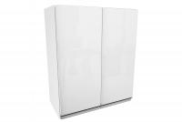 Aspen Biały Połysk G60 - szafka wisząca dwudrzwiowa Aspen G60 szafka wisząca z półką