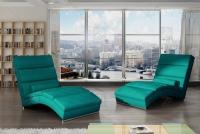 Szezlong wypoczynkowy Chicago do salonu fotel tapicerowany