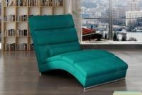 Szezlong wypoczynkowy Chicago do salonu ekskluzywny fotel wypoczynkowy