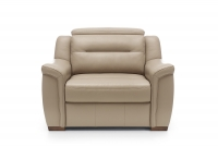 Fotel z regulowanym zagłówkiem Salmo fotel z regulacją