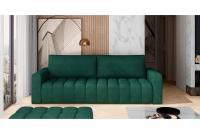 Kanapa z funkcją spania Lazaro kanapa w butelkowej zieleni