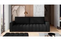 Kanapa z funkcją spania Lazaro ciemna kanapa do salonu