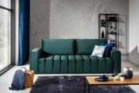Kanapa z funkcją spania Lazaro kanapa zielona