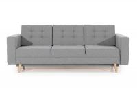 Kanapa z funkcją spania Asgard 3F sofa z nóżkami