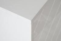 Komoda duża dwudrzwiowa z szufladami Paris - biały połysk