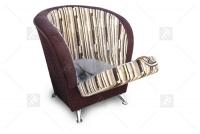 Komplet wypoczynkowy Filip  fotel kubełek z pojemnikiem