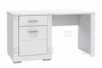 Komplet mebli młodzieżowych Snow białe biurko