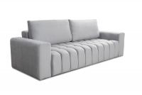 Komplet wypoczynkowy Lazuro kanapa z przeszyciami
