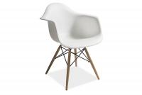 Krzesło Mondi Białe - Wyprzedaż ekspozycji