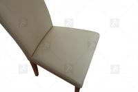 Krzesło Norbert - Wyprzedaż  beżowe krzesło