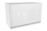 Kuchnia Aspen Biały Połysk - Zestaw mebli kuchennych 2,4 szafka wisząca uchylna
