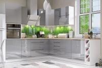 Kuchyňa Aspen Šedý lesk - 250cm x 270cm - Komplet nábytku kuchennych