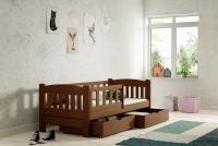 Łóżko dziecięce Antek parterowe DP 002 Certyfikat łóżko niskie