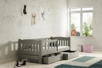 Łóżko dziecięce Antek parterowe DP 002 Certyfikat łóżko pojedyńcze