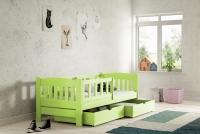 Łóżko dziecięce Antek parterowe DP 002 Certyfikat łóżko dla przedszkolaka