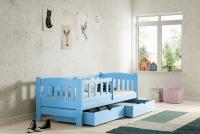 Łóżko dziecięce Antek parterowe DP 002 Certyfikat łóżko dla chłopca