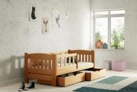 Łóżko dziecięce Antek parterowe DP 002 Certyfikat łóżko dla trzylatka