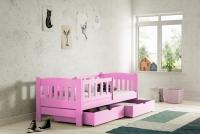 Łóżko dziecięce Antek parterowe DP 002 Certyfikat łóżko dla trzylatki