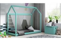 Łóżko dziecięce Domek Miko łóżko dla trzylatka