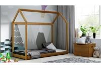 Łóżko dziecięce Domek Miko łózko drewniane