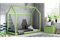 Łóżko dziecięce Domek Miko łózko zielone