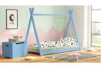 Łóżko dziecięce drewniane Tipi łózko dla chłopca
