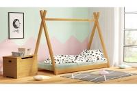 Łóżko dziecięce drewniane Tipi łóżeczko drewniane