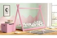 Łóżko dziecięce drewniane Tipi łóżko parterowe