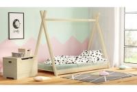 Łóżko dziecięce drewniane Tipi łóżko sosnowe