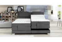 Łóżko elektrycznie sterowane Wave 160x200 - Promocja łóżko z materacem