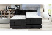 Łóżko elektrycznie sterowane Wave 180 x 200 - Promocja! czarne łóżko